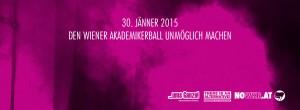 NOWKR | Den Wiener Akademikerball unmöglich machen! | Für ein Ende der Gewalt! | Facebook Header 3