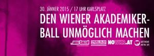 NOWKR | Den Wiener Akademikerball unmöglich machen! | Für ein Ende der Gewalt! | Facebook Header 2