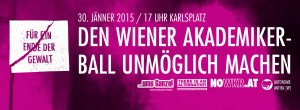NOWKR | Den Wiener Akademikerball unmöglich machen! | Für ein Ende der Gewalt! | Facebook Header 1